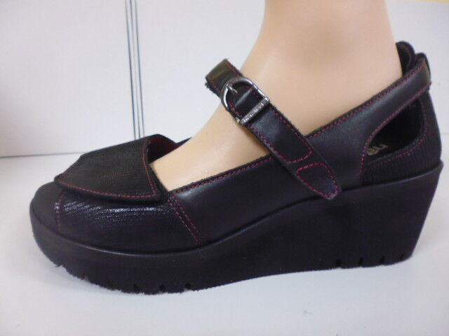 Sandalias zapatos klettverschl juanetes cuero New feet medical (6,5) WG