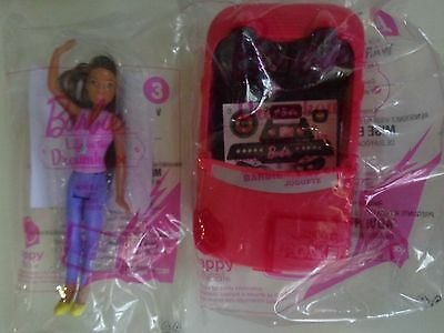 MCDONALD'S HAPPY MEAL TOYS BARBIE LIFE IN THE DREAMHOUSE 2 TOYS