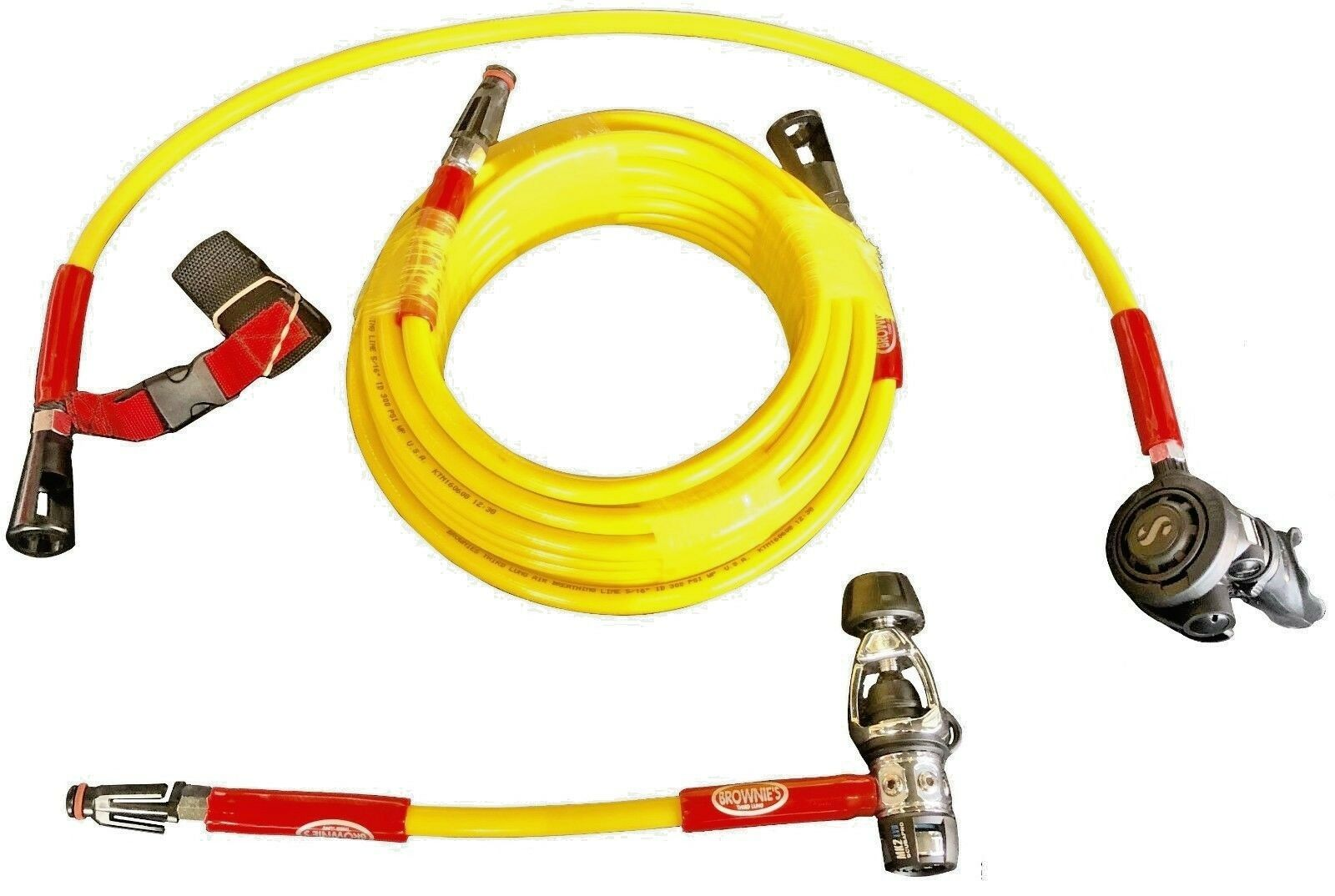 Brownie's Kayak 40 ft Diving Hose Kit w  Regulator, No Tank