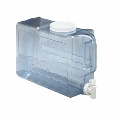 Heavy Duty BPA Free Slim Beverage Dispenser with Faucet 2.5 Gallon