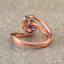 1-6ct-Round-Cut-Purple-Amethyst-Engagement-Ring-14k-Rose-Gold-Finish-Solitaire thumbnail 3