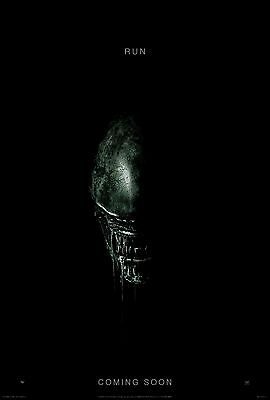"ALIEN COVENANT ""RUN"" MOVIE POSTER FILM A4 A3 ART PRINT CINEMA"
