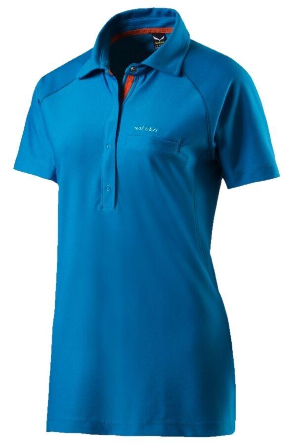 Salewa deporte señora fitness ocio outdoor manga corta Polo Polo Polo Shirt Alpin dry nuevo 1e2958
