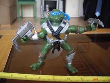 TEENAGE MUTANT NINJA TURTLEs TMHT TMNT Robo Hunter Leonardo FIGURE with weapons