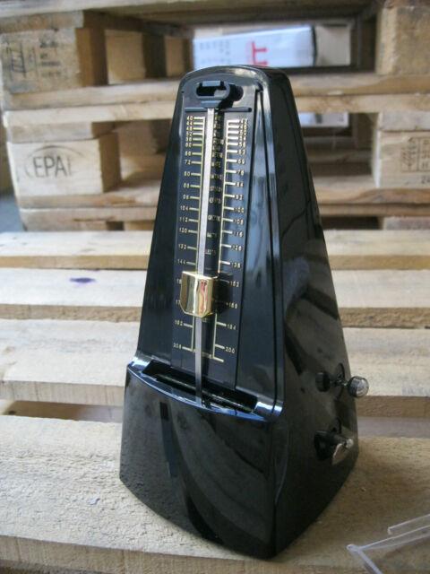 EDEL Piano Taktgeber mechanisch Metronom WEISS Rhythmus Gitarre Klavier