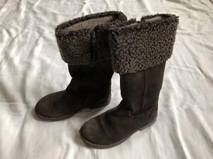 the latest da412 daec6 Details zu CHERIE Mädchen Stiefel Boots Schuhe Wild Leder Gr.29 girls boots  suede TOP