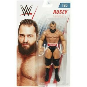 WWE-Wrestling-Series-95-Rusev-Action-Figure-6-Inch-New-Boxed