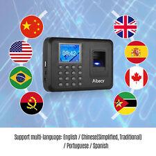 Biometric Fingerprin Attendance Machine Time Clock Checking In Recorder D2b0