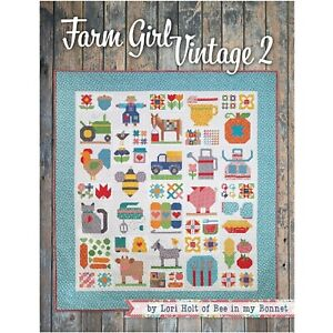 Farm-Girl-Vintage-2-Quilt-Book-by-Lori-Holt-of-Bee-in-my-Bonnet