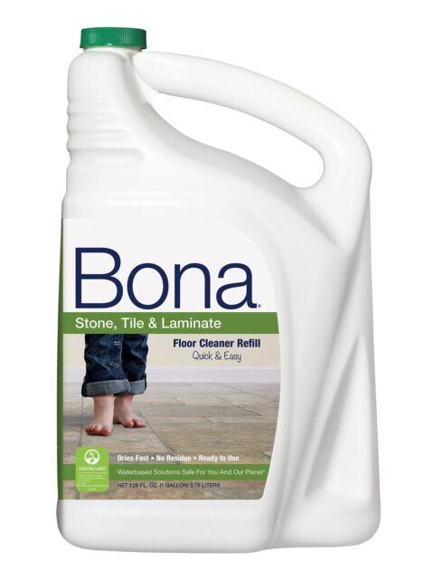 Bona Stone Tile Laminate Floor Cleaner Refill 128oz Ebay
