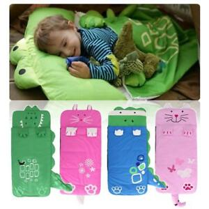 the latest b321a 2ef71 Details about Kids Cartoon novelty sleeping bag. Great for  sleepovers/camping 130*59cm