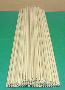 """Lot of 100 Fiberglass Tubes .262"""" X .178"""" 27 1/8"""" Long - Kite Spars, Arrows, etc"""