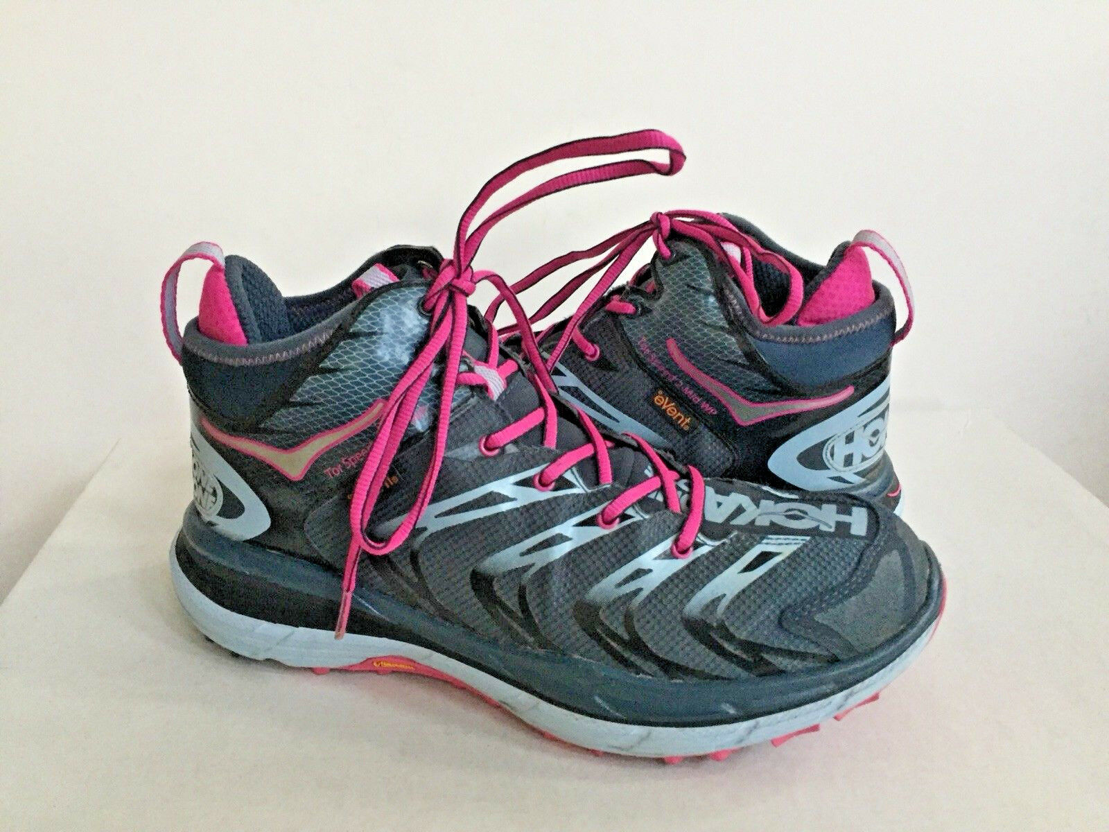 HOKA ONE FRAUEN SPEED 2 MID NAVY NEON FUCHSIA US 7.5   EU 39 1  3   UK 6