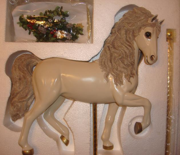NEW Ashton Drake Winter Winter Winter Splendor Carousel + Doll Gaby Rademann Ideal Christmas 9151f2