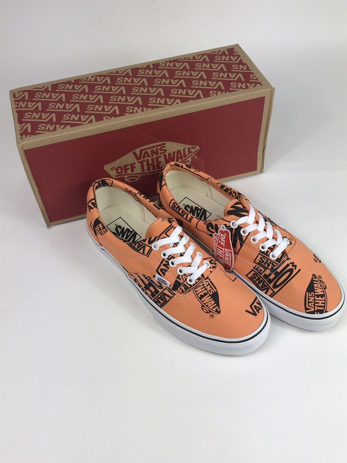 Vans Era Logo Mix para hombres zapatos talla 7.5 Mujer Talle 9 Nuevas Con Caja Envío Gratis