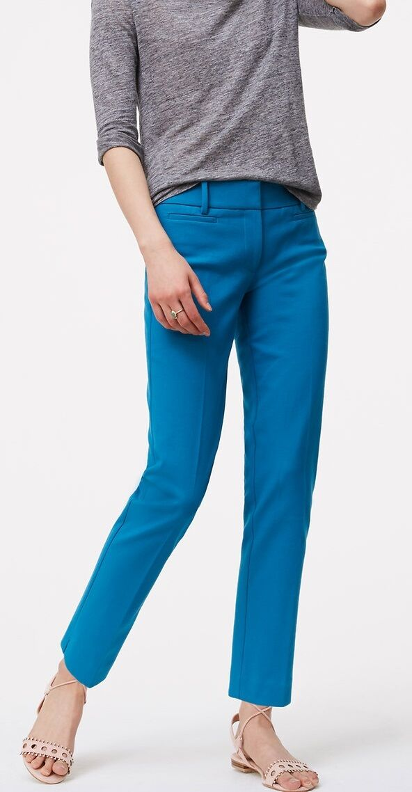 Ann Taylor LOFT Riviera Pants in Marisa Fit Größe Various Farbes and Größes NWT