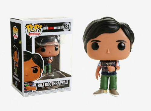 Funko Pop Television Raj Koothrappali Figure #38584 The Big Bang Theory™