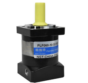 60mm planetary gear reducer Ratio 10:1 for 200w 400w AC servo motor shaft 14mm
