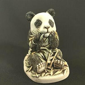 Vintage Harmony Kingdom Treasure Jest Bamboozled Panda Bamboo Pot 1997