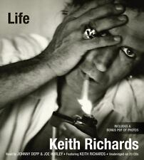 Life by Keith Richards (2010, CD, Unabridged)