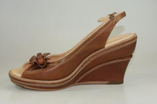 Timberland Boot Company Marge Peep Toe Slingbacks Wedges Damen Sandaletten 67632