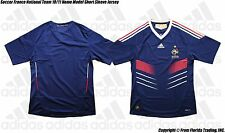 Soccer France National Team 10/11 Home Model adidas SS Jersey(L)Giroud Benzema
