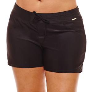 Zeroxposur Swim Shorts Plus Size 16W, 18W, 20W, 22W New Msrp Liquorice