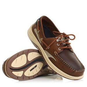 Sebago Detalles De Cuero 7 Nuez Clovehitch Ii Zapatos Náuticos Hombre 15 Tallas EDHW29eYI