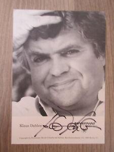 Klaus Dahlen original handsignierte Autogrammkarte / T25