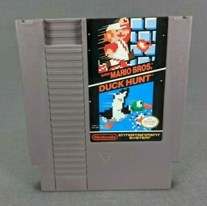 Super Mario Bros. Duck Hunt Nintendo Entertainment System 1988 Tested Working