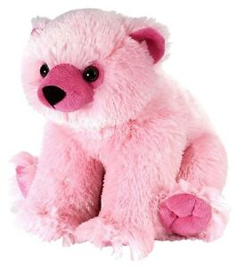 Polarbär pink 30 cm Sweet & Sassy Kuscheltier Wild Republic 12978