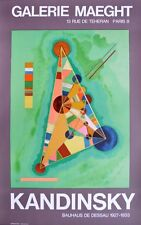 Kandinsky Bauhaus Poster Kunstdruck Bild Plakat 73x45cm