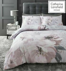 Catherine-Lansfield-Dramatic-Floral-Easy-Care-Duvet-Cover-Bedding-Set-Blush