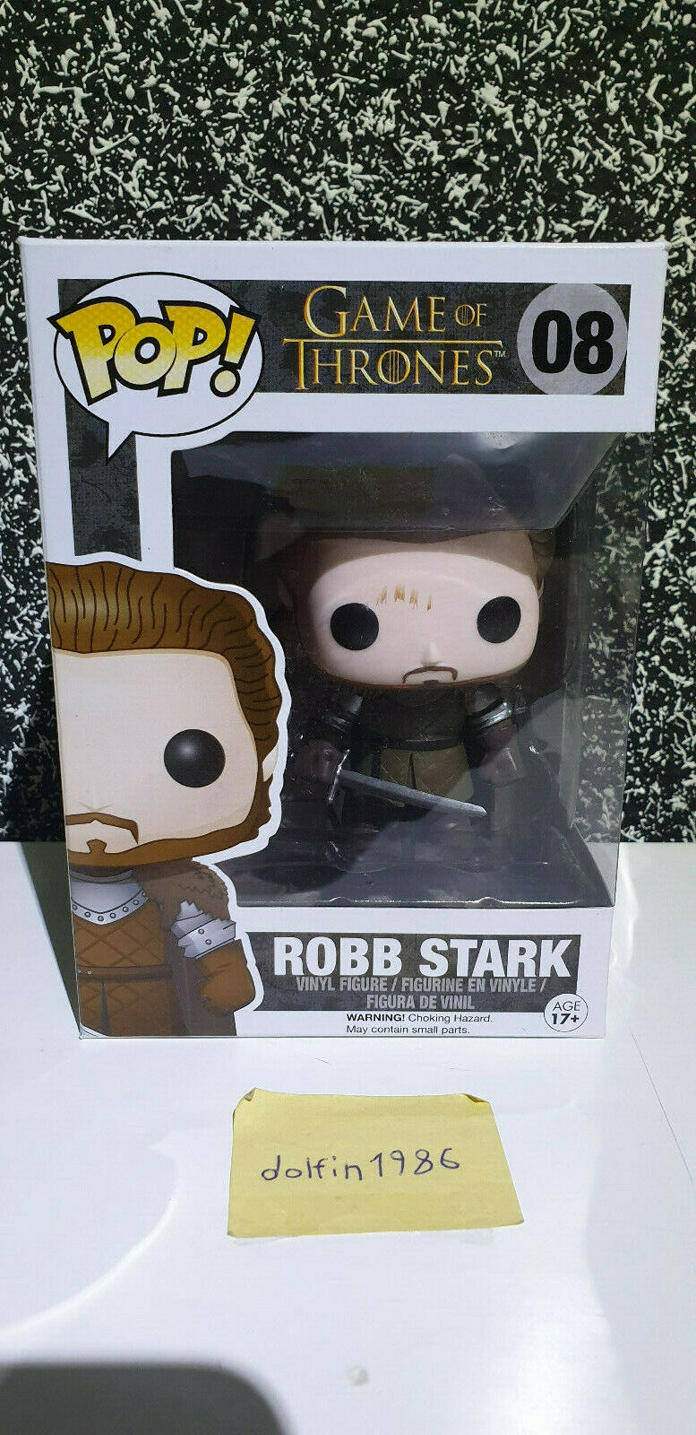 Pop  Vinyl Pop  Game of Thrones Robb Stark