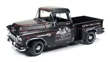 AUTO WORLD 1955 CHEVY CAMEO STEPSIDE PICKUP TRUCK THREE STOOGES 1/18 AWSS115