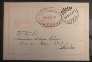 1887-St-Vincent-Cape-Verde-PS-Postcard-Cover-to-Lisbon-Portugal