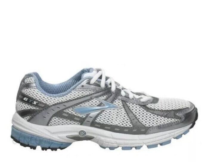 Running Shoe Sneakers White Gray Sz