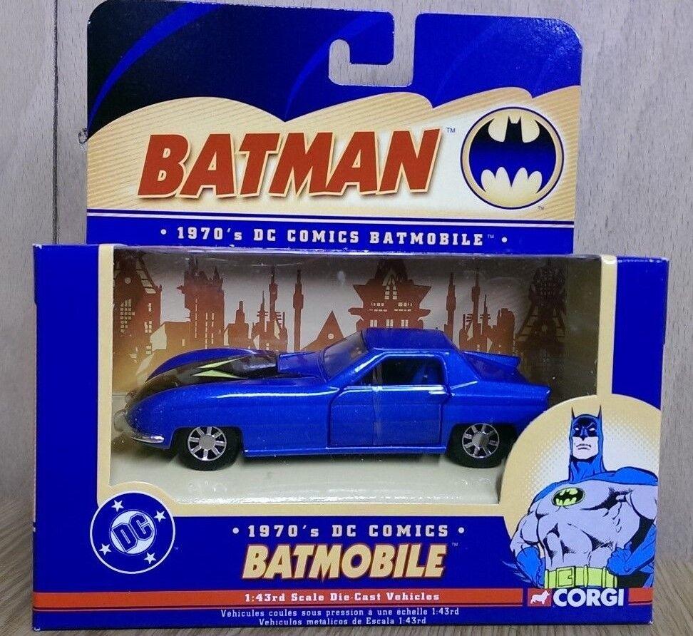 Corgi 77315 77315 77315 Batman DC Comics 1 43 1970's Batmobile 2537cf