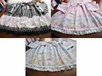 Bodyline Sweet Lolita Carousel Print Skirt 3 Colors Size 2l Or T2l