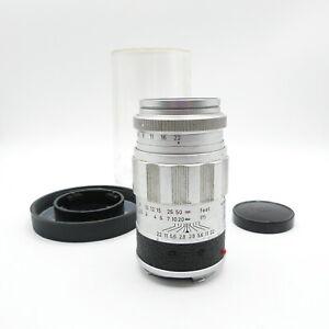 Fuer-Leica-M-Leitz-Wetzlar-Elmarit-1-2-8-90-Objektiv-lens
