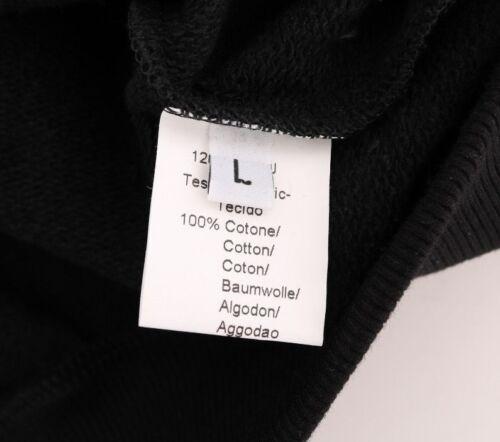 NEW $200 DANIELE ALESSANDRINI Sweater Black Sport Casual Hodded Cotton Men s XXL