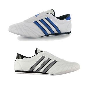 Details about Adidas Taekwondo Schuhe Sneaker TKD Kampfsportschuhe Fitness Weiß Blau NEU 40 46