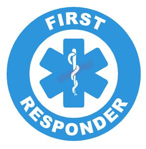 First-Responder-Certified-Emblem-Vinyl-Decal-Window-Sticker-Car