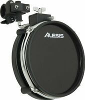 "*NEW-W/ MOUNT CLAMP* Alesis 8"" RealHead Dual Zone Drum Pad [DM10 DM8 DM6 DMPad ]"