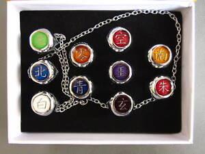 10pcs Naruto Cosplay Akatsuki Rings Itachi Gift Box Set Free Shipping Ebay