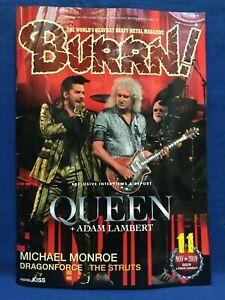 BURRN-November-2019-Hard-Rock-Heavy-Metal-Magazine-Japan-Queen-Michael-Monroe