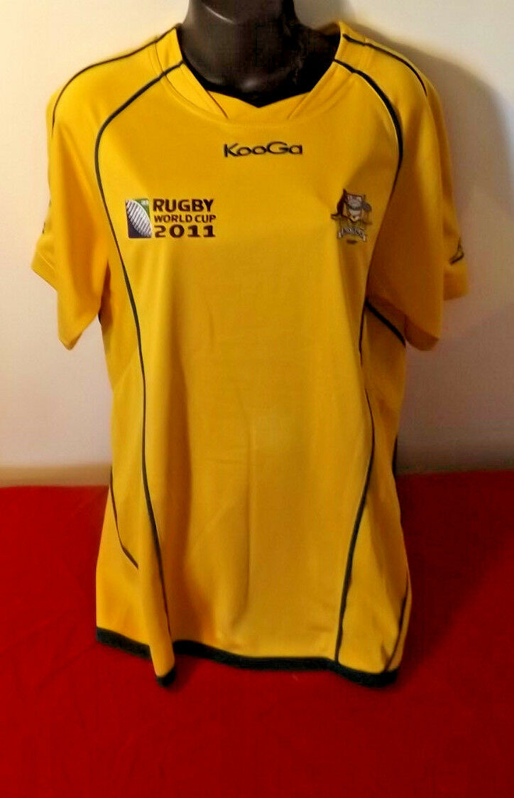 WALLABIES 2011 WORLD CUP KOOGA JERSEY IN GREAT CONDITION SIZE M