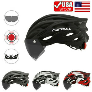 Adult Cycling Helmet MTB Mountain Road Bike Bicycle Helmet w/ Removable Goggles