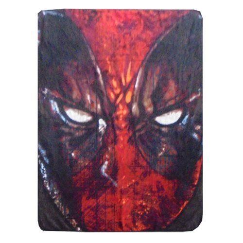 Deadpool Marvel Comic Movie Soft Fleece Blanket Throw Rug Winter Collectables