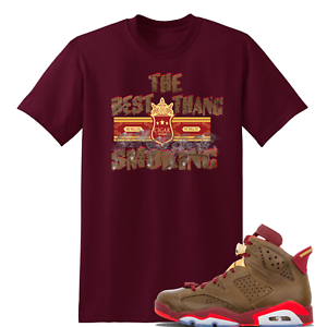 e73342acf99388 We Will Fit shirt for Jordan 6 Cigar and Champagne Championship